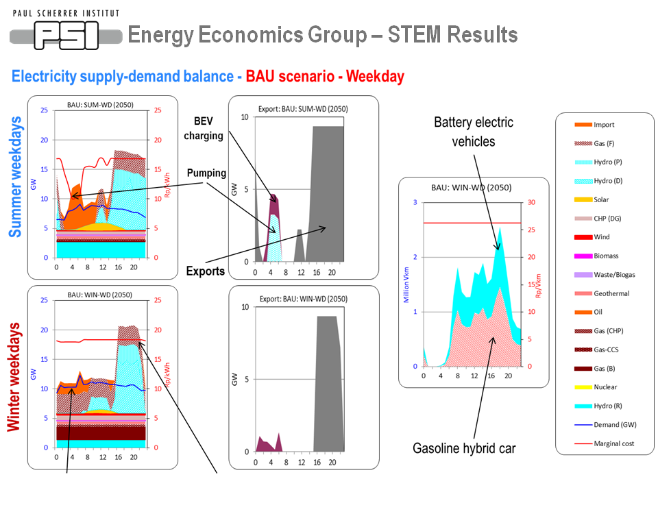Energy Economics Group - STEM Results